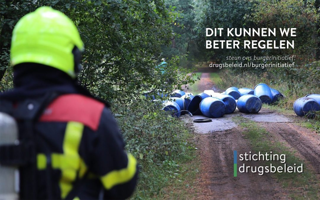 Stichting Drugsbeleid start burgerinitiatief voor verantwoorde legalisering drugs